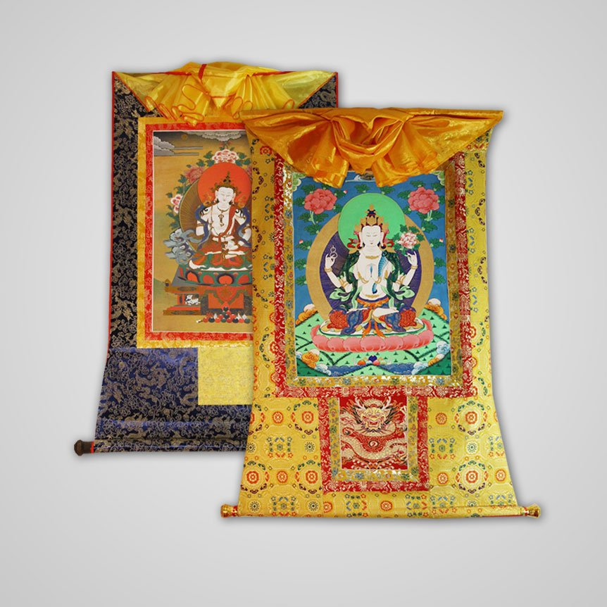 Brocade Thangkas